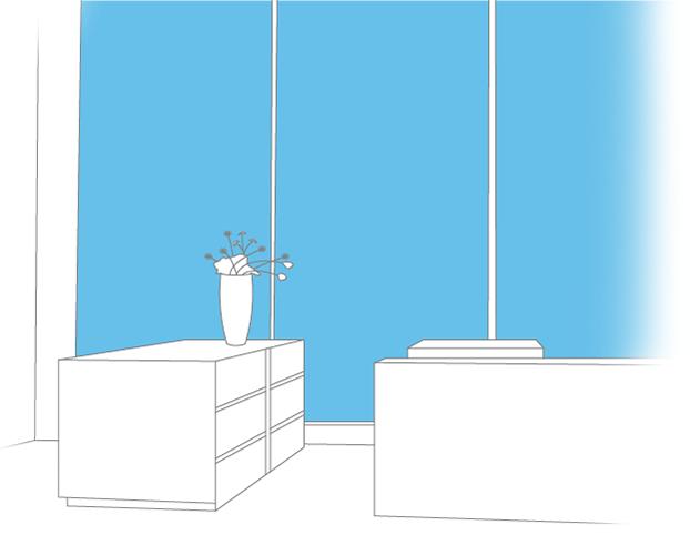 wandabsorber f r b ros gewerber ume und sporthallen. Black Bedroom Furniture Sets. Home Design Ideas